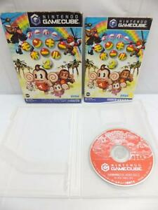 NINTENDO-GAMECUBE-034-SUPER-MONKEY-BALL-2-034-BOXED-JAPAN-JAPANESE-GAME