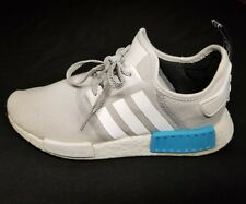 3ae7ca15629c Adidas NMD R1 Runner Nomad White Bright-Cyan-Blue S31511 Sz 8.5 Yeezy  Ultraboost