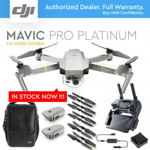 DJI-MAVIC-PRO-PLATINUM-w-4K-Stabilized-Camera-FLY-MORE-COMBO