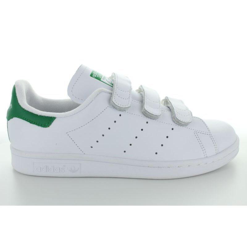 STAN  SMITH CF BLENC verde  marchio famoso