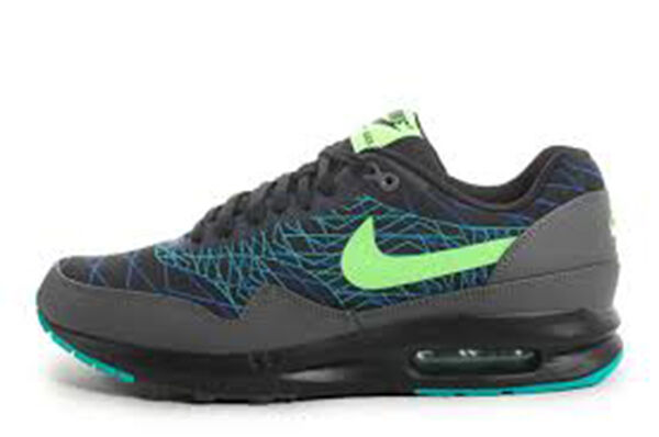 NIKE Air Max Lunar 1 JCRD Winter  Black Flash Lime Cobalt  684494-003 7.5 Mens
