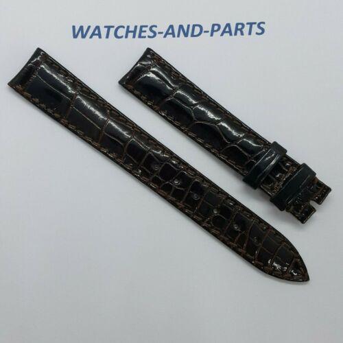 Audemars Piguet AP Dark Brown Alligator Leather Strap 16/14 NEW GENUINE NOS