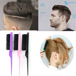 Fashion-Beauty-Hairdressing-Mustaches-Tool-Hair-Teasing-Brush-Bristle-Comb