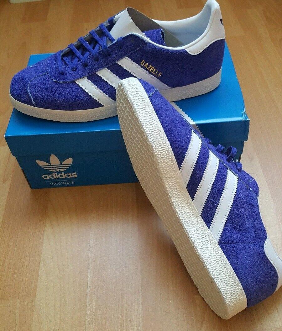 Adidas Gazelle BD7687 blau weiß Gr.42, 44, 44 2 3 NEU OVP