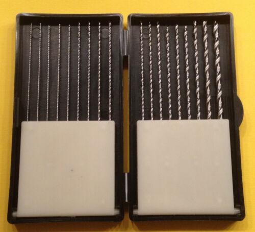 3,0mm aus HSS neu und ovp überlange Micro Spiralbohrer im Satz 0,5mm