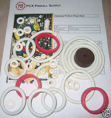 1979 Allied Leisure Star Shooter Pinball Machine Rubber Ring Kit