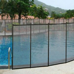 In-Ground-Swimming-Pool-Safety-Fence-Section-Accidental-Drowning-Prevent-4-039-x12-039