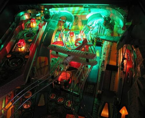 INDIANA JONES Pinball Playfield Light Mod