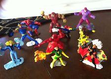 10 Zizzle lot Marvel Heroes Series No. 1 Storm Rogue Sentinel Bishop Mystique