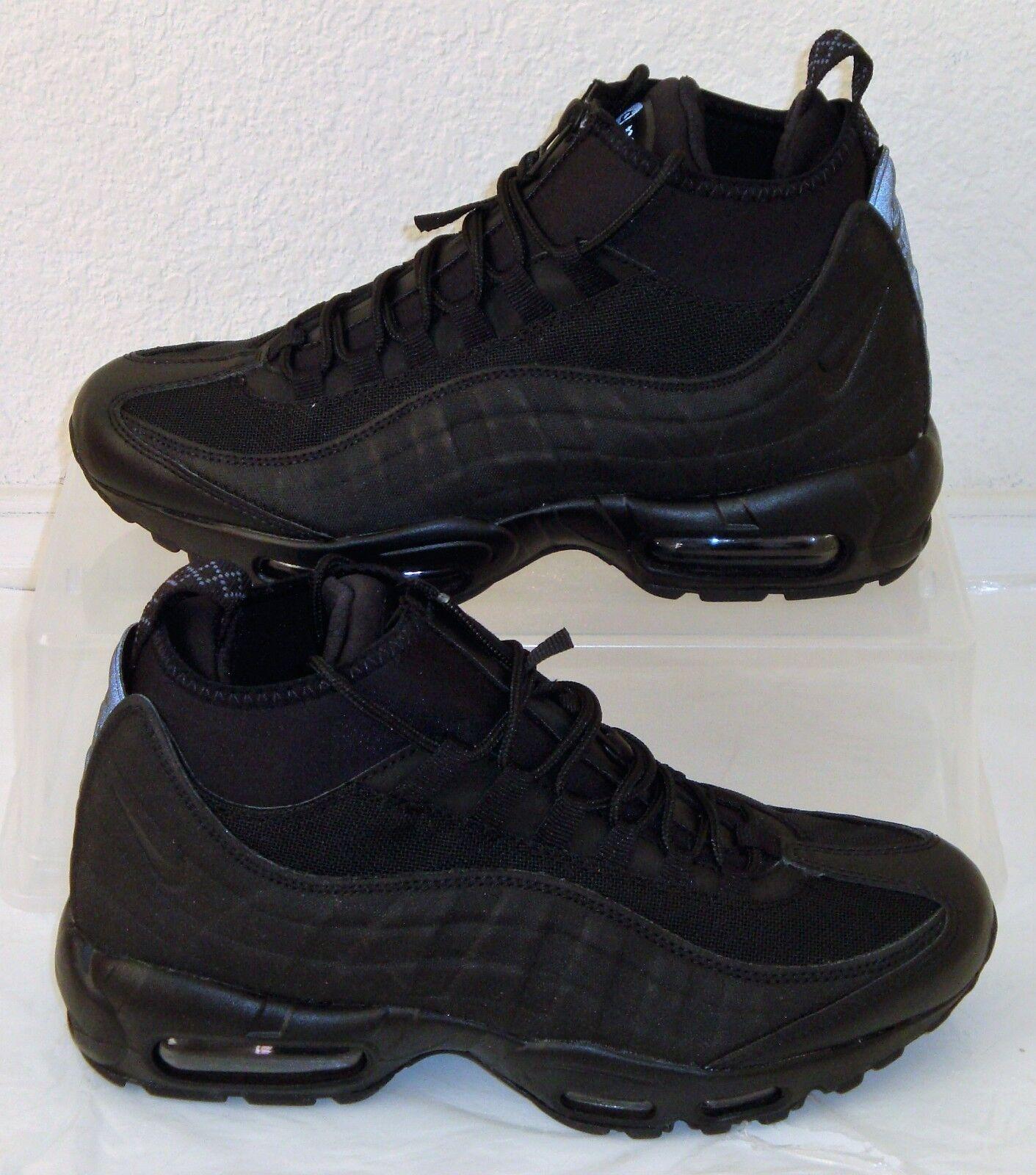 084a95836a New Nike Air 95 Sneakerboot Black Mens US 8 Max Size npgzjz4332 ...