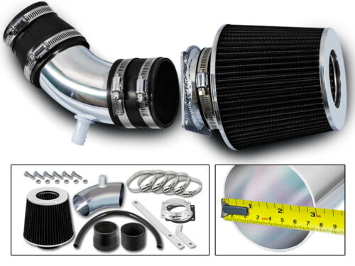 BCP BLACK 01-04 Tribute Escape XLS XLT DX ES LX 3.0L V6 Short Ram Air Intake