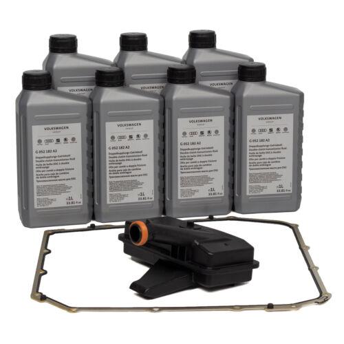 Hydraulikfilter Satz 7-Gang S-Tronic DL501 7L ORIGINAL Getriebeöl G052182A2