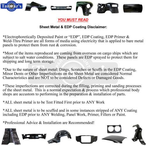 67-81Fbody NO A//C Firewall Heater Case Blower Motor Fan Housing Box DELETE PLATE