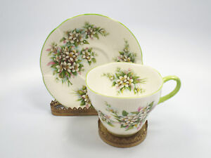 Royal-Albert-Bone-China-Blossom-Time-Series-Orange-Blossom-Tea-Cup-amp-Saucer