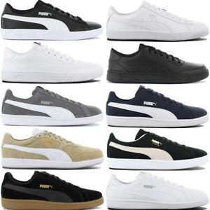 Ledersneaker Herren Weiß von Puma
