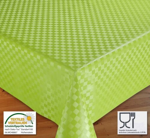Wachstuchtischdecke Tischdecke Wachstuch abwischbar Meterware Reliefdruck Muster