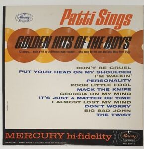 Miss Patti Page Sings Golden Hits Of The Boys Mercury