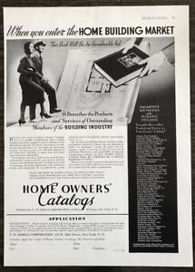 1936-Home-Owner-039-s-Catalogs-Print-Ad-When-You-Enter-the-Home-Building-Market