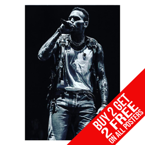 631dab9c438bf CHRIS BROWN BB1 POSTER A4 A3 SIZE PRINT - BUY 2 GET ANY 2 FREE | eBay