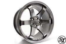 Rota Grid Wheels 18x95 38 5x1143 Hyper Black Subaru Wrx 2015 2017 Sti 05 17