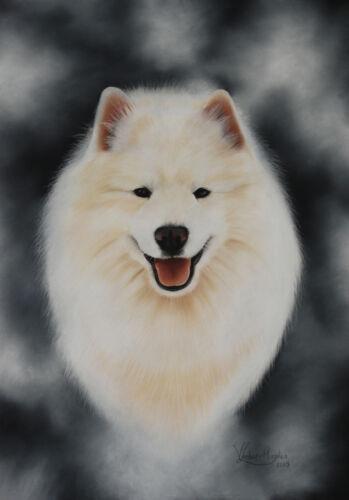 2 images available SAMOYED by UK artist Dog Bookmark
