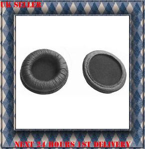 Orejas de Cuero Cojín Almohadillas para Sennheiser PX200/PX200II PMX200 Nuevo