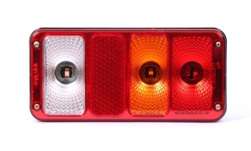 Heckleuchte Multifunktionslampe Rückleuchte Bus Anhänger 5in1 Rechts 12//24VNr190