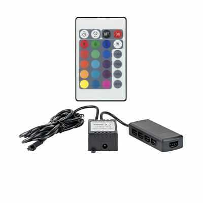 Design Luce Led Rgb Controller Con Telecomando Ad Infrarossi E A 9 Punti Distributore-mostra Il Titolo Originale
