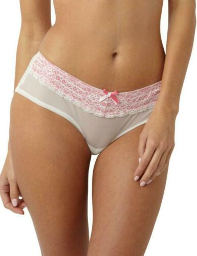 Panache Sophie Maternity Short Brief Knickers 5824 Ivory//Pink