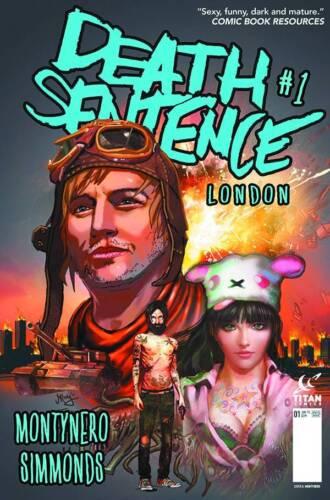DEATH SENTENCE LONDON #1 COVER A MONTYNERO TITAN COMICS MR