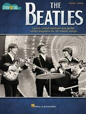 Beatles Guitar Sheet Music Strum & Sing ~ Let it Be, Lucy in the Sky, More!  HL