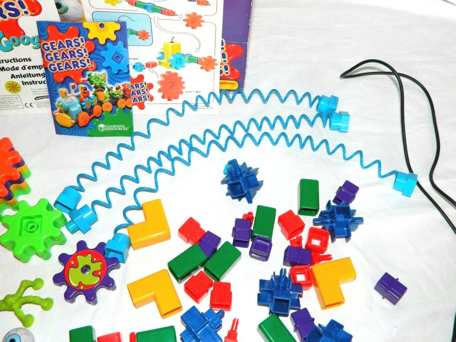 OOGLY GOOGLY Motorized GEARS Kids Building Set  96 96 96 PIECES a17305