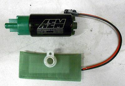 [SALE] AEM HIGH FLOW Ethanol E85 1000HP FUEL PUMP 320 LPH Universal Install Kit