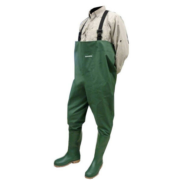 PVCWaders Wader in PVC Shimano Pesca Abbigliamento Calzature RN