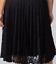 Lane-Bryant-Velvet-Pleated-Midi-Dress-Womens-Plus-20-22-Black-Lace-Skirt-2x-3x thumbnail 6