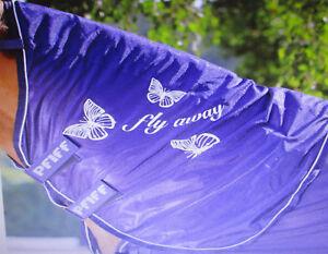 PFIFF-Fliegen-Halsteil-mit-Schmetterlingsprint-blau-Warmblut-Full-Art-102143