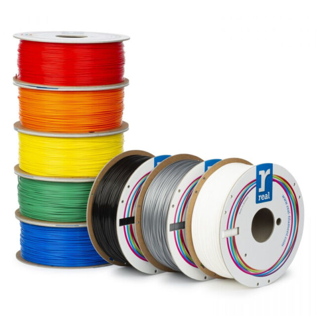 REAL FILAMENTS PLA 1,75mm 1KG - Filamento stampa 3d