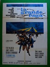 M38 MANIFESTO 2F LA GRANDE FUGA STEVE McQUEEN JAMES GARNER BRONSON JOHN STURGES