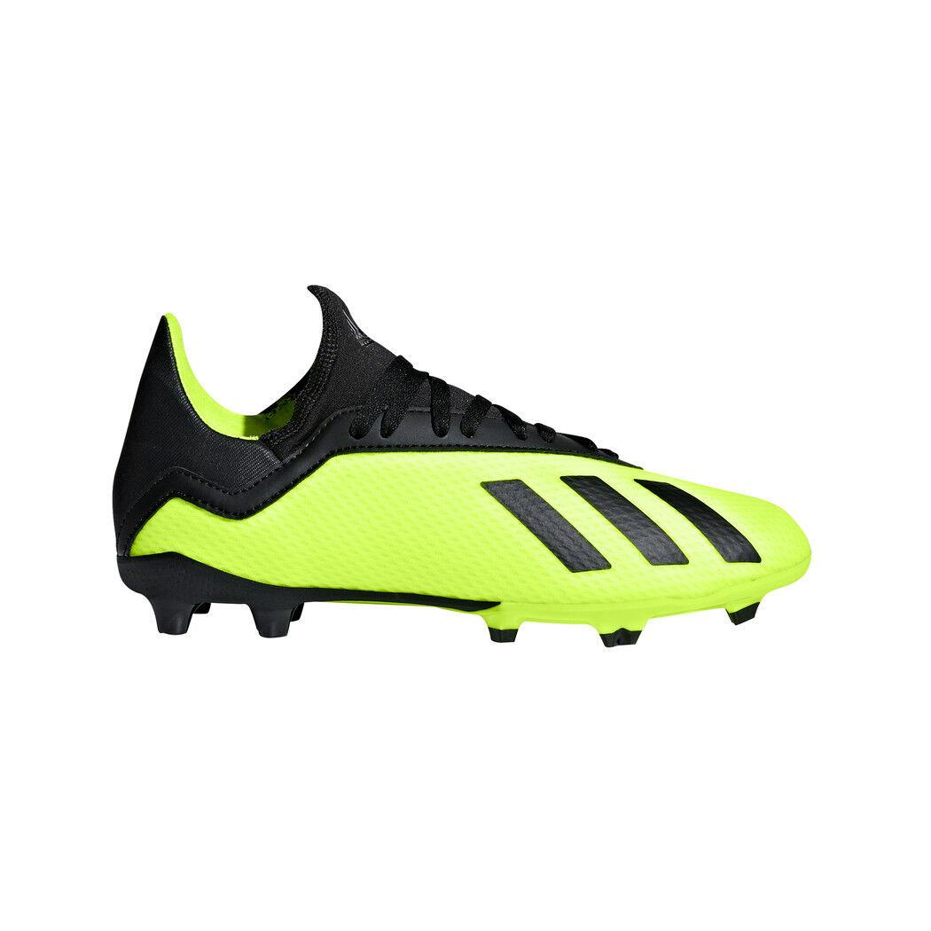 Adidas Kinder Kinder Kinder X 18.3 FG Junior gelb schwarz 136897