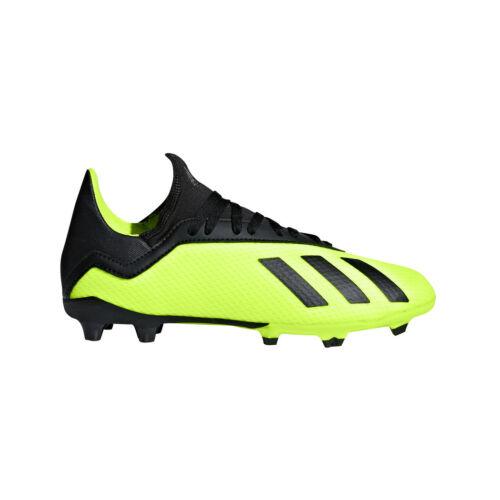 adidas Kinder X 18.3 FG Junior gelb/schwarz Fußball DB2418