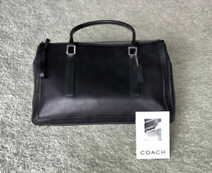 Coach-Handbag-Retired-Style-New-without-tags-Black