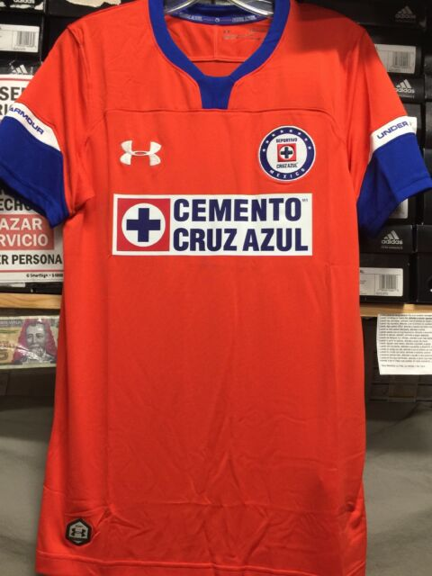 41effd68e42 Cruz Azul Under Armour Red Stadium Soccer Jersey 2018 19 Size 2xl ...