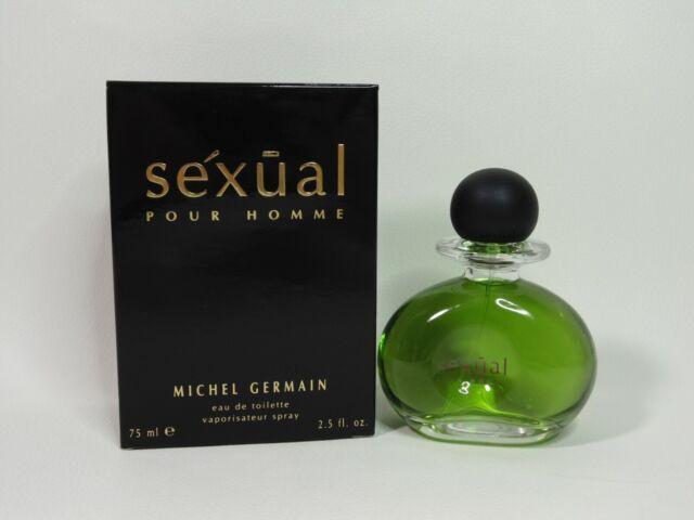 SEXUAL pour homme Michel Germain 2.5 oz EDT spray mens cologne 75ml NIB