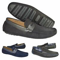 Men's Italian Loafers Moccasin Designer Casual Party Driving/Deck Shoes UK 6-12