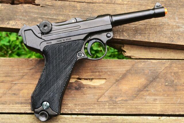 Luger Parabellum P08 Pistol - WWI - WWII - German - Non-Firing Denix Replica