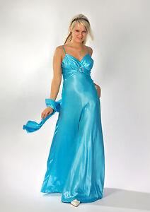 Elegantes Abendkleid Ballkleid Brautkleid Cocktailkleid Gr 34 36 Turkis Ebay