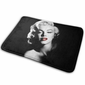 Marilyn Monroe Absorbent Memory Foam Bathmat Non Slip Bathroom Carpets Floor Rug