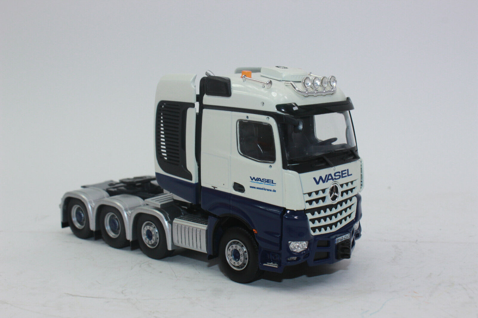 Herpa 071376 Mercedes-Benz Arocs Lorry Tractor Wasel 1 50 New Boxed