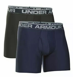 Mens-Under-Armour-Original-Boxerjock-2-Pack-Boxer-Briefs-6-inseam-Size-S-28-29