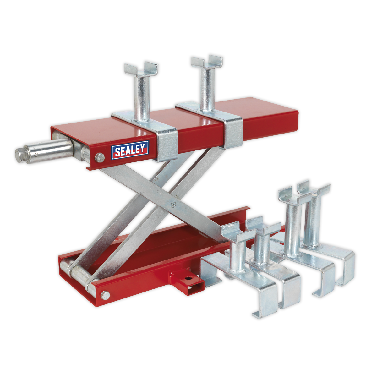 - Scissor Stand for Motorcycles 300kg SEALEY MC5905 by Sealey